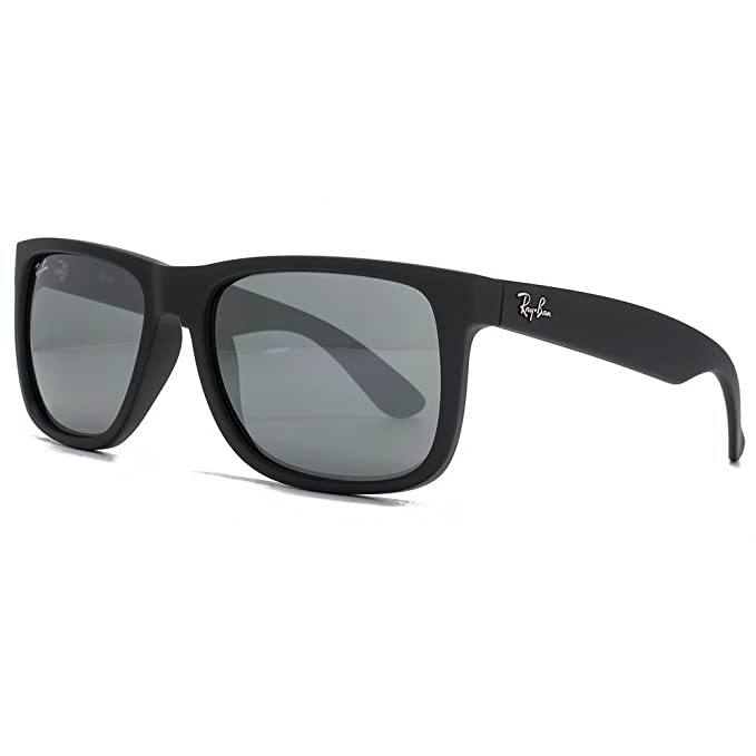 Amazon.com: Ray-Ban RB4165 Justin – Gafas de sol Negro Mate ...