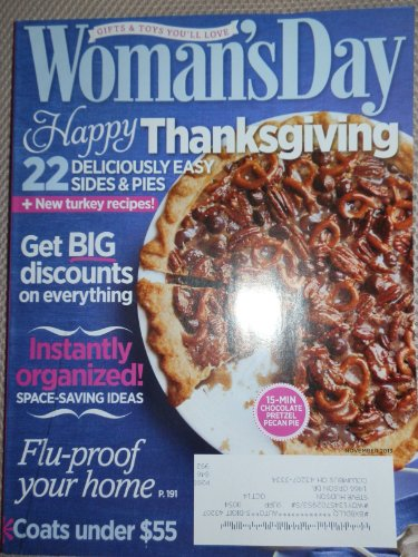 Woman's Day Magazine (November 2013) - Thanksgiving (Pumpkin Pie Haircut)