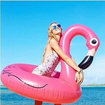 Piscina Flamingo Gigante Flotador 120cm Piscina Anillo de Goma Anillo de natación Juguete de Agua de