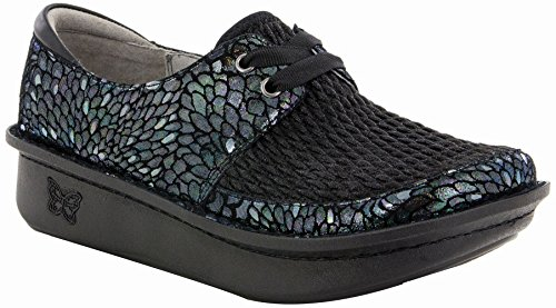 Alegria Womens Dani Lace-Up Clog, Minnow, Size 36 EU (6-6.5 M US Women)