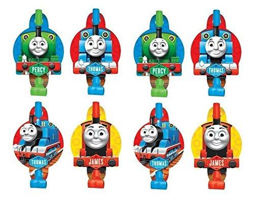 Thomas the Tank Engine Train Birthday Blowouts (8PC)