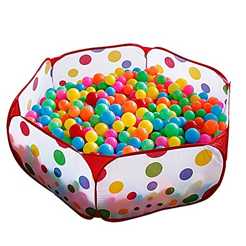 Baby ball pool foldable kids popup pit balls pool for for Piscina de bolas amazon