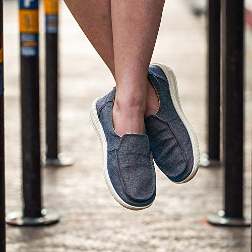 Las Mujeres Shoes Azul Brumosa Marina De Dude Chambray xEnwT8qn
