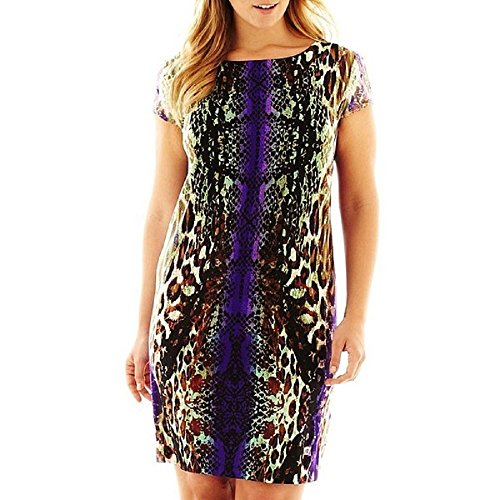 Used, R&K Originals Mirror Print Dress - Plus for sale  Delivered anywhere in USA