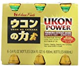 House Foods Ukon Power Drink, 3.4-Ounce Bottle (Pack of 6)