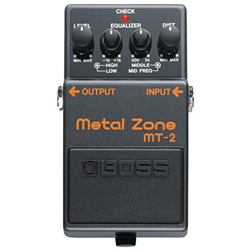 Boss MT-2W Metal Zone Waza Distortion Effects Pedal