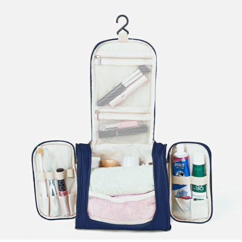 Cadtog Hanging Toiletry Bag Travel Cosmetic Kit Essentials - Import It All 3be86a9153af4