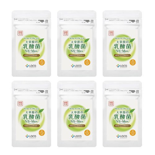 大草原の乳酸菌 NS-Max [36粒] 6袋セット B01BHI1GW4