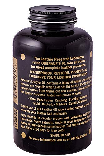 Buy oil for leather furniture