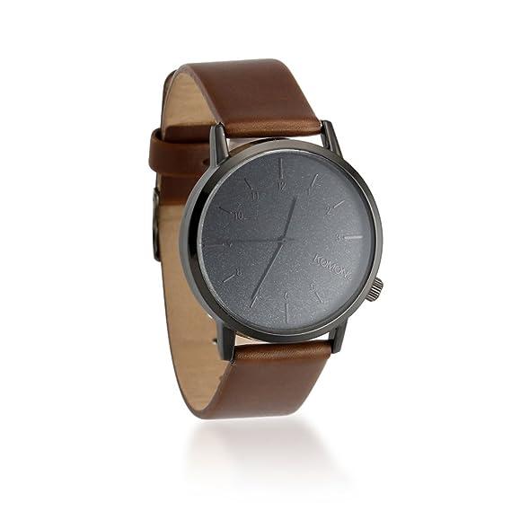 Amazon.com: Oct17 - Reloj de pulsera para hombre (piel ...