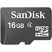 SanDisk 16 GB Class 4 microSDHC Flash Memory Card by SanDisk