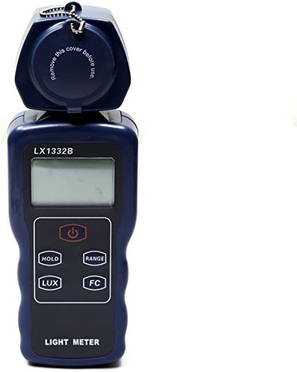 XIAOFENG-Instrument Digital Lux Meter 200000 Lux LED Light Luxmeter Spectra Tester Auto Range Precision Lux FC Filter Lense Digital Illuminometer Electronic Testing Equipment