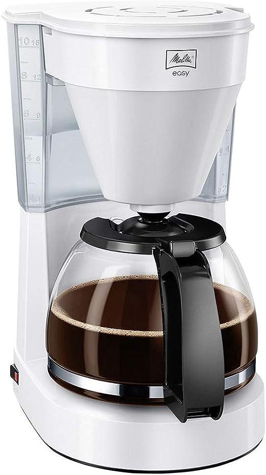 Melitta Easy Cafetera de filtro con jarra de vidrio, Capacidad 10 ...