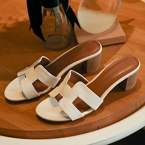 Qingchunhuangtang@ High High High Heel Hausschuhe Sandalen Sandaletten Sandalen Hausschuhe d53dec
