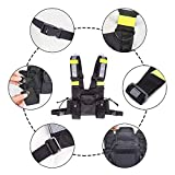 Ationgle Radio Chest Harness with Reflective Band