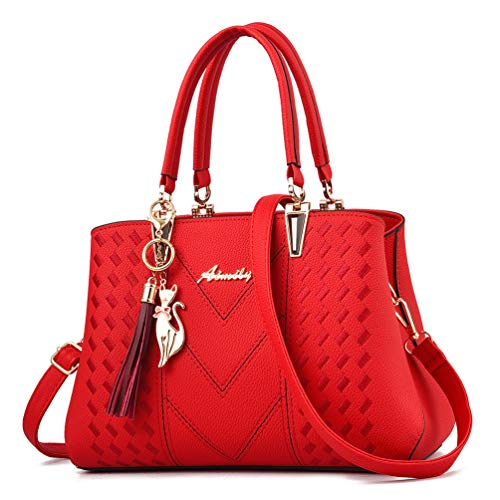 Red Designer Handbags - 7