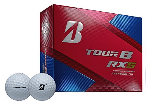 Bridgestone Golf Tour B RXS Golf Balls, White  (One Dozen) - 760778083109