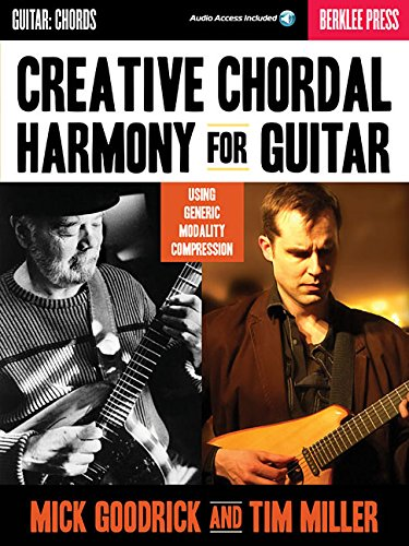 Price comparison product image Creative Chordal Harmony for Guitar: Using Generic Modality Compression