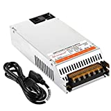 Singpad upgrade version Dc12V 20A Universal Regulated Switching Power Supply Driver Transformer for led strip,CCTV, Radio, Computer Project with 3-Prong Plug (12V 240W)