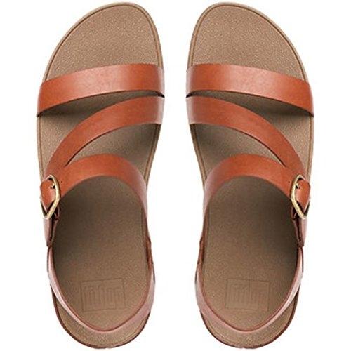 Fitflop Donna Il Magro Z-cross Sandal Dark Tan