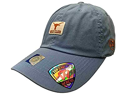 Top of the World Texas Longhorns TOW WOMEN Light Blue Lady Luck Golf Club Adjustable Hat Cap from Top of the World