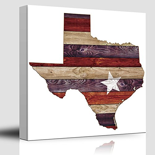Austin Star Red White and Blue Texas Rustic State Country Western Cowboy Wood Background Texture
