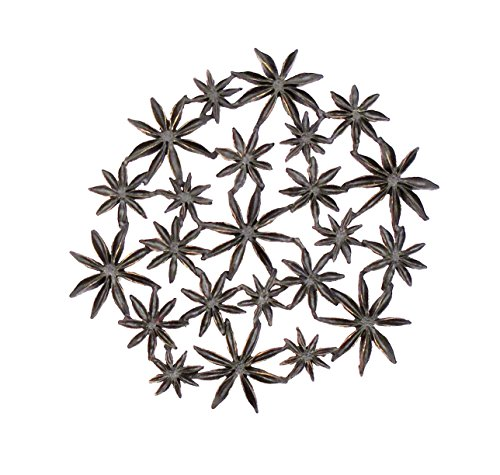 ''Star Anise'' Trivet by Michael Michaud Table Art for Silver Seasons by Michael Michaud