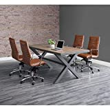 "Rivet Conference Table 96""W x 42""D Weathered"