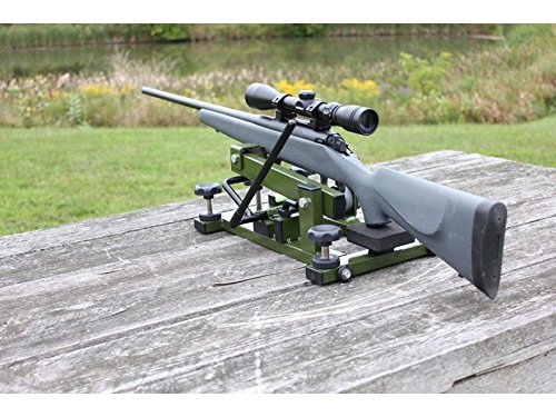 HYSKORE Track and Elevate Shooting Rest, OD Green