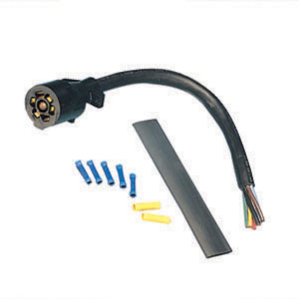 Bargman 5467525 7way Plug Wiring Kit Wiring Diagram Data Val