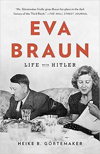 Eva Braun Life With Hitler Amazon De Gortemaker Heike B Searls Damion Fremdsprachige Bucher