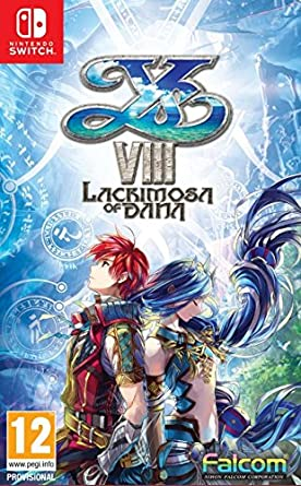 Ys VIII: Lacrimosa of Dana - Nintendo Switch [Importación italiana]: Amazon.es: Videojuegos