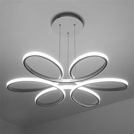 MKJ White lampadario moderno LED luci a soffitto per soggiorno camera da  letto lampada Lampadari Moderni
