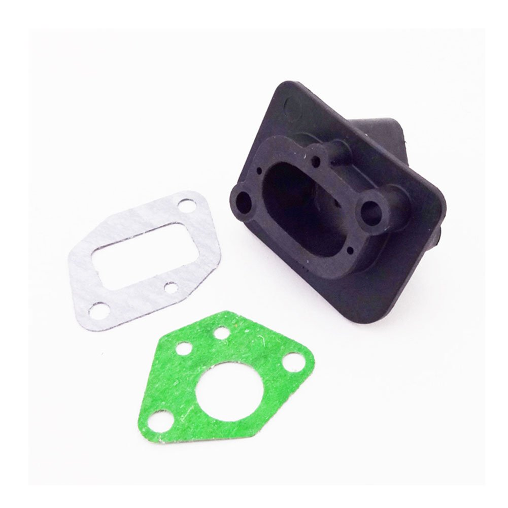 Race-Guy Plastic Intake Inlet Manifold Gaskets For 2 Stroke 33cc 43cc 49cc Engine Goped Scooter Cat Eye Pocket Bike Kids Moto