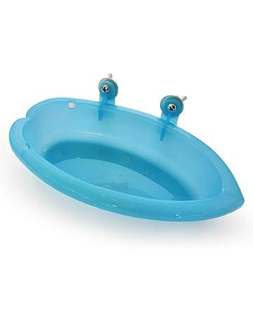 SparY Bañera para pájaros, bañera portátil para pájaros, para Loros de Mascotas, bañera