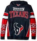 Houston Texans Big Logo Hooded Sweater Medium