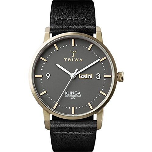Triwa Ash Klinga Watch - Black Classic