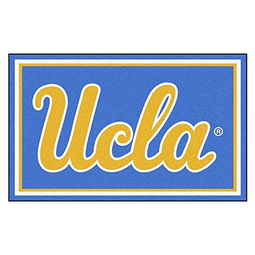 FANMATS NCAA UCLA Bruins Nylon Face 4X6 Plush Rug by Fanmats