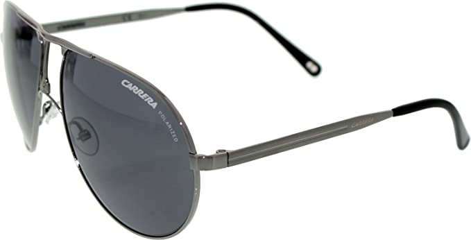 55486e7eaa Carrera Sunglasses Carrera 1 81M TD Matt Ruthenium Grey Polarized ...