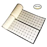 """Office Products : Vkey 3/4"""" White Square Straps 250 Pairs Self Adhestive Hook Loop Self Adhesive Strips With Waterproof Sticky Glue Fastener"""