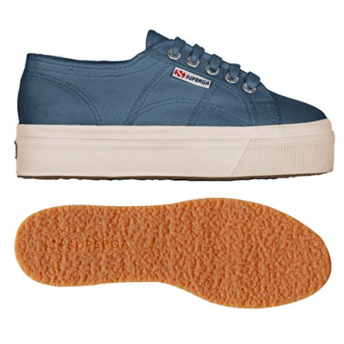 Linea Acotw and 2790 SMOKY Down Superga Donna BLUE Up Sneaker WUP71xnx