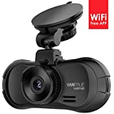 """Vantrue X3 WiFi Dash Cam-Super HD 1440p Car Camera Car Driving Recorder with 170° Wide Angle 2.7"""" LCD, G-Sensor, Parking Mode, Time Lapse, HDR & Super Night Vision"""