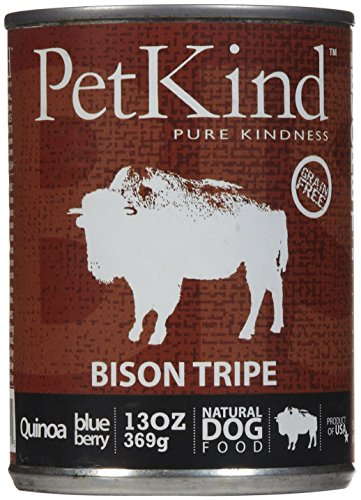 "Dogswell Petkind That's It ""Bison Tripe"" 12/13 oz Dog Food, 1 Pack, One Size"