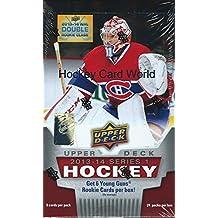 2013-14 Upper Deck Series 1 Hobby Box - Yakupov, MacKinnon, Huberdeau + more..
