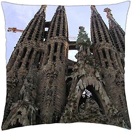 Sagrada Familia iglesia, Barcelona, España – Funda de almohada manta (16: Amazon.es: Hogar