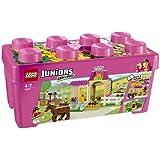 LEGO Juniors - 10674 - Jeu De Construction - Grande Boîte Du Centre Équestre