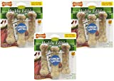 9-Count Nylabone Healthy Edibles Roast Beef Flavor Dog Bone Treats - Size Regular (3 Packages with 3 Bones each)