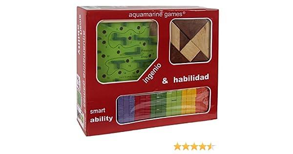 Aquamarine Games - Pack: ingenio y Habilidad (Compudid CP004): Amazon.es: Juguetes y juegos