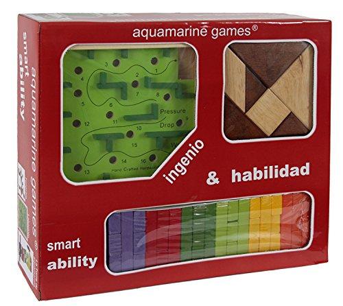 Pack Aquamarine Games Compudid CP004 ingenio y Habilidad