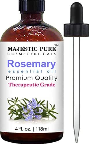 Majestic Pure Essential Oil, Rosemary, 4 Fluid Ounce